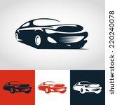 abstract sport car illustration.... | Shutterstock .eps vector #220240078