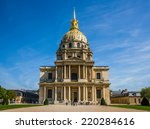 the national residence of the... | Shutterstock . vector #220284616