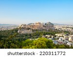 panoramic view of acropolis of... | Shutterstock . vector #220311772