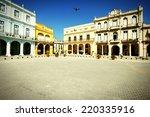 havana  cuba   city... | Shutterstock . vector #220335916