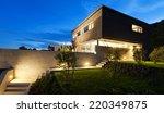 architecture modern design ... | Shutterstock . vector #220349875