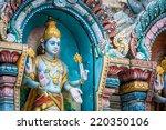 One Of The Many Hindu Deities...