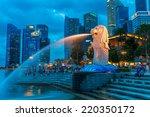 singapore   december 22  the... | Shutterstock . vector #220350172
