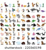 super set of vector cute... | Shutterstock .eps vector #220360198