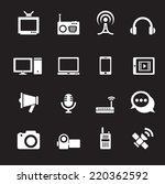 communication icon | Shutterstock .eps vector #220362592