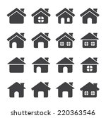 house icon | Shutterstock .eps vector #220363546