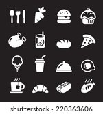 food icon | Shutterstock .eps vector #220363606