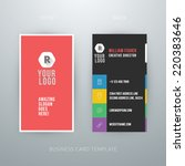 modern simple business card...