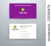 modern simple business card...