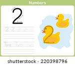 Number Tracing Worksheet ...