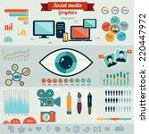 flat design vector illustration ... | Shutterstock .eps vector #220447972