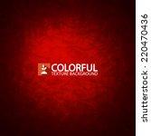 red texture background. vector... | Shutterstock .eps vector #220470436