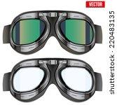 Retro Aviator Pilot Glasses...