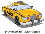 an illustration of a yellow... | Shutterstock .eps vector #220490896
