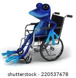 blue frog | Shutterstock . vector #220537678