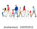 Multi Ethnic Group Of People...