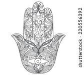 vector illustration with... | Shutterstock .eps vector #220556392