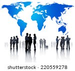 global business meeting | Shutterstock . vector #220559278