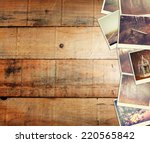 mosaic with pictures of... | Shutterstock . vector #220565842