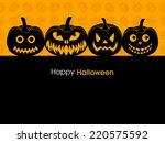 illustration of poster banner... | Shutterstock .eps vector #220575592