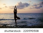 Vrikshasana Tree Pose From Yog...