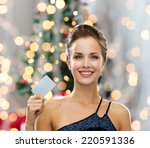 shopping  wealth  holidays and... | Shutterstock . vector #220591336