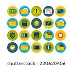 flat icons set 10   interface...