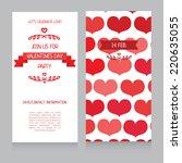 invitation template for... | Shutterstock .eps vector #220635055