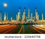 beautiful lighting of oil... | Shutterstock . vector #220640758