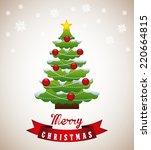 christmas graphic design  ... | Shutterstock .eps vector #220664815