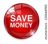 save money icon   Shutterstock .eps vector #220668985