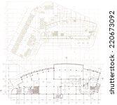 architectural background. part... | Shutterstock .eps vector #220673092