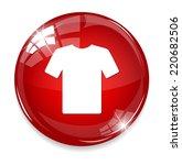 cloth icon | Shutterstock . vector #220682506