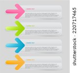 infographics template for... | Shutterstock .eps vector #220717465