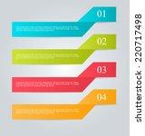 infographics template for...   Shutterstock .eps vector #220717498