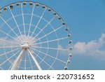 A Constructing Ferris Wheel In...