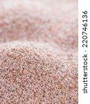 heap of fresh psyllium seeds... | Shutterstock . vector #220746136
