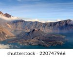 Mount Rinjani Volcano And...