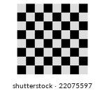 black   white chessboard   Shutterstock . vector #22075597