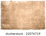 highly detailed textured grunge ... | Shutterstock . vector #22076719
