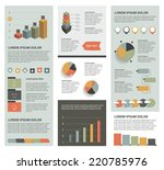 big set of flat infographic...
