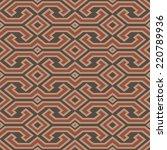 seamless vintage toraja color... | Shutterstock .eps vector #220789936