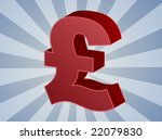 british uk pounds currency... | Shutterstock . vector #22079830