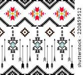 american indian ethnic... | Shutterstock .eps vector #220859512