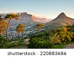 signal hill  cape town  south... | Shutterstock . vector #220883686