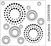 circle pattern | Shutterstock .eps vector #220935058