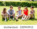 friendship  leisure  summer and ... | Shutterstock . vector #220945912