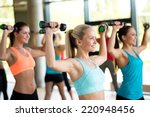 fitness  sport  training and... | Shutterstock . vector #220948456