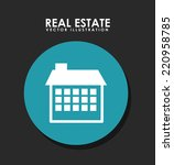 real state graphic design  ... | Shutterstock .eps vector #220958785