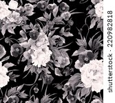 seamless floral pattern with... | Shutterstock . vector #220982818